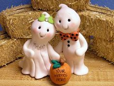 Ghost Cake Topper. I think I can make this!