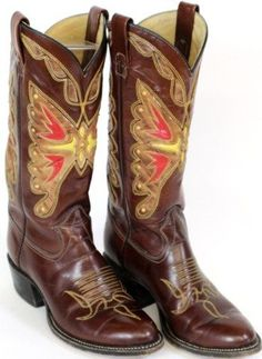 Texas brand custom cowboy boots