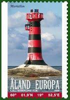 Åland Lighthouse .Ponderings over the pond: Stamps of  The Åland Islands or Åland, Finland
