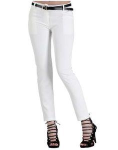 ΝΕΕΣ ΑΦΙΞΕΙΣ :: Υφασμάτινο Παντελόνι Wrap Your Body Ecru - OEM Skinny Jeans, Pants, Fashion, Trouser Pants, Moda, Fashion Styles, Women's Pants, Women Pants, Fashion Illustrations
