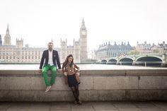 London after-wedding session (Westminster)