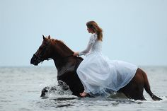 #fantasy #fairytale #horse   What if you have to ride a horse across water to get to your groom? Adrienne!