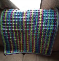 Ravelry: Offset Bobbles Blanket pattern by Hannah M. Carroll