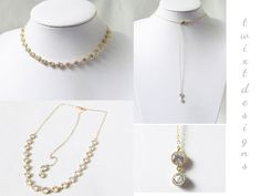 Gold cubic zirconia circle necklace with a lovely backdrop that is perfect for a backless or low back dress. This elegant design is perfect as a bridal necklace, bridesmaids necklace, mother of bride gift, or gift for wife. It make a simple yet lovely accessory for that special occasion.