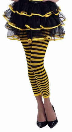 Bumble Bee Leggings | Totally Costumes