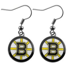 Boston Bruins - NHL Team Logo Dangler Earrings by aminco. $3.75. Show your support for the Boston Bruins with these Team Logo Dangler Earrings. Save 53% Off!