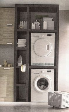 Best 20 Laundry Room Makeovers - Organization and Home Decor Laundry room decor Small laundry room organization Laundry closet ideas Laundry room storage Stackable washer dryer laundry room Small laundry room makeover A Budget Sink Load Clothes Laundry Storage, House Design, Laundry In Bathroom, Room Design, Laundry Mud Room, Small Spaces, Home, House Interior, Bathrooms Remodel