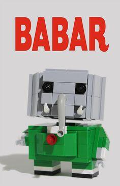 Babar lego blockhead