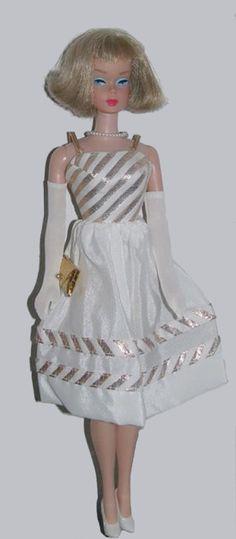 Vintage American Girl Barbie in Country Club Dance  ((((SILVER ASH BLONDE !1!!!!!!!!)))