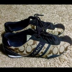 Coach sneakers! In great condition! No noticeable flaws. Coach Shoes Sneakers