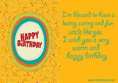 28 Images happy birthday wishes quotes for uncle – Really Good Life Quotes - Modern Birthday Message For Uncle, Uncle Birthday Quotes, Friendship Birthday Quotes, Birthday Quotes For Best Friend, Birthday Quotes For Daughter, Birthday Uncle, Funny Birthday, Birthday Cakes, Belated Birthday Wishes