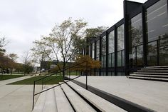 Crown Hall at IIT, Chicago, IL. Van der Rohe was director of the school of architecture at IIT.