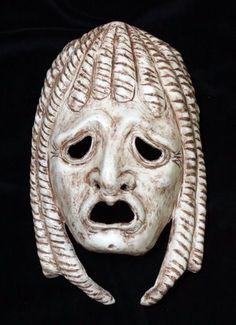 Image result for greek masks monsters
