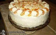 Érdekel a receptje? Kattints a képre! Cake Cookies, Vanilla Cake, Sweets, Desserts, Oreos, Cakes, Google, Cold Desserts, Tailgate Desserts