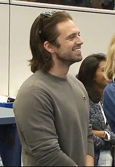 Sebastian Stan. I want someone to look at me the way Seb is looking at someone/something right here.