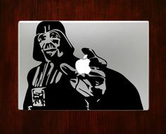 DecalOnTop.com - Darth Vader Star Wars Decal Stickers For Apple Macbook Pro Air 13 15 Laptop, $7.99 (http://www.decalontop.com/darth-vader-star-wars-decal-stickers-for-apple-macbook-pro-air-13-15-laptop/)