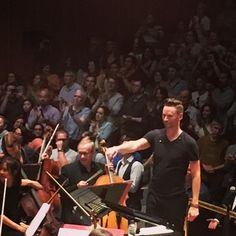 Brian Tyler Live, powerful performance from beginning to the end. Loved it! #philharmonia #briantyler #composerlife