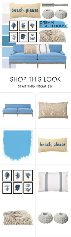 """""""Untitled #126"""" by brittany-phelps ❤ liked on Polyvore featuring interior, interiors, interior design, home, home decor, interior decorating, Pottery Barn, Nordstrom Rack, Murmur and DKNY"""