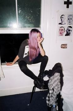 Pastel Hair. Not that its a necessity , but come on! Its pastel hair!