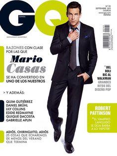 Male Fashion Trends: Mario Casas en portada de GQ España Septiembre 2013