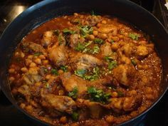 Easy Murgh Cholay recipe. Spicy and seasoned Chicken and chickpea curry. A favourite dish from Punjab. Its Easy to Cook, Hard to Resist. Posted by Tracey.