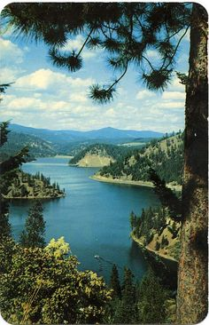 Who knew Idaho was so beautiful, but it really is.- Coeur d' alene Idaho