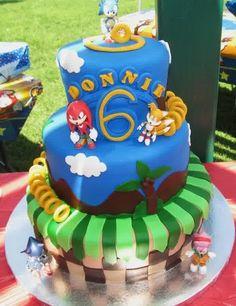 sonic birthday cake | New Cake Ideas