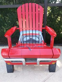 '63 Corvette chair. Makes a great gift! Built by www.philcurren.com