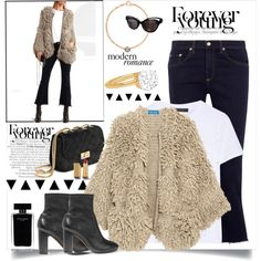 A fashion look from December 2016 by rousou featuring M.i.h Jeans, The Row, rag & bone, Vince, Pomellato, Sonia Rykiel, Narciso Rodriguez and Gucci