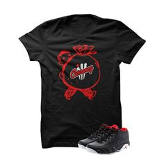 Jordan 9 Low Bred Black T Shirt (Money Bags)