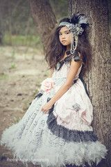 """""""A Memory Frozen In Time""""...A Luxury Children's Boutique Dress"""