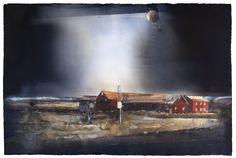 Lars Lerin(Swedish, b.1954)