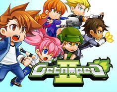 Getamped 2 is een 3d Action RPG game waar je kan vechten samen spelen en meer je kunt costumes maken met polygons werken je kunt tegen mensen vechten wapens verzamelen muziek maken het kwaad verslaan tegen AI's vechten en nog veel meer