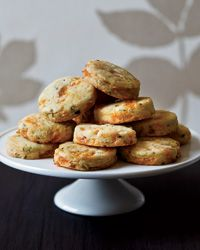 thinking of savory cookies with wine to nibble on while dinner is finishing