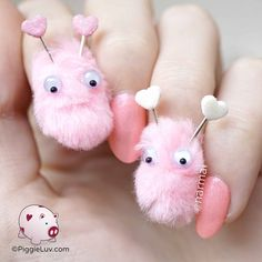 They're lovebugs!!! Little fluffy creatures that you just wanna hug <3 <3 <3
