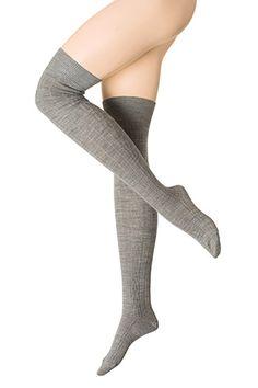 Esprit / Palmikkokuvioidut pitkät sukat polvisukat