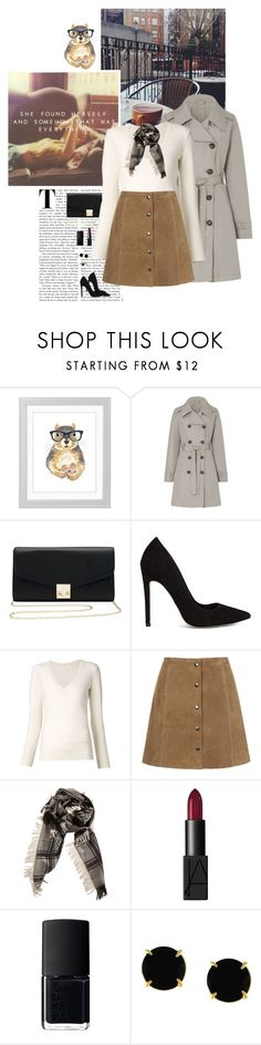 """""""She Found Herself & Somehow That Was Everything...."""" by allweknowisfalling ❤ liked on Polyvore featuring M&Co, ASOS, Chloé, Topshop, Gucci, NARS Cosmetics, Vince Camuto and LUMO"""