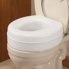 Locking Raised Toilet Seat With Arms  1 | Handicapped Accessories |  Pinterest | Toilet