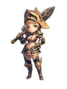 Chibi Lady Knight