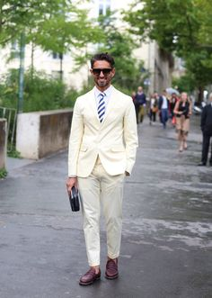A lot of the women at The Couture appeared to be trying too hard. A bag here, a skirt here was fantastic, but they just didn't pull the whole look together. This gentleman proves what Bill Cunningham has been saying for awhile now: in fashion, it's definitely all about the men right now.