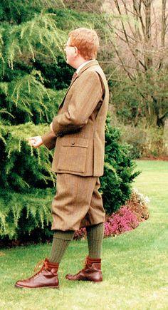 harris tweed fife shooting suit