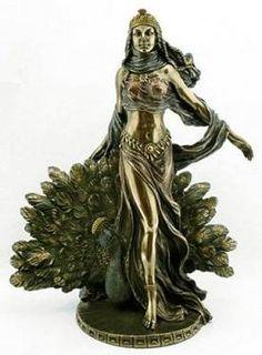 Oshun ~ YEMAYA Peacock YEMANJA ORISHA SANTERIA Lucumi YORUBA Bronze St