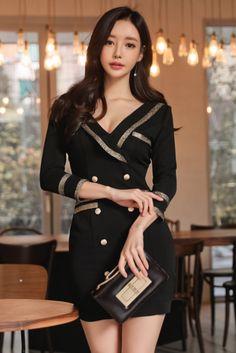 Son Youn Ju Office Fashion Y Dresses Oriental