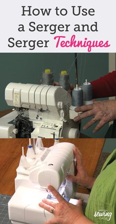 Beth Bradley teaches you how to change the settings on a serger so you can use it in more fun and creative ways. You will learn the differences between a sewing machine and serger and how you control the length, width, knife, and type of stitch within the serger. Beth also covers basic uses for a serger and shows how to perform a correctly formed over-lock stitch.