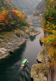 Oboke-kyo & Koboke-kyo (Oboke & Koboke gorges)  #japan #shikoku #tokushima