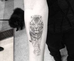 Tiger tattoo by Doctor Woo