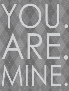 YES. YOU. ARE.