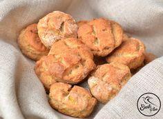 Szafi Free kalóriaszegény, zsírmentes vegán pogácsa (gluténmentes, tejmentes, tojásmentes, szójamentes, HCLF)