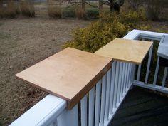 Corner Deck Railing Planter Flower Pot Rail Wire Shelf Balcony Plant Table Stand My Eye Hyllor