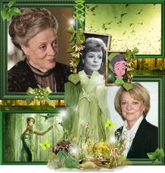 """22/50 Fauna - Maggie Smith"" by beautiful-nightmare ❤ liked on Polyvore"